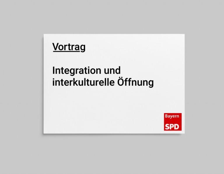 ULLA DIECKMANN Vortrag am 01.10.2018: Integration und interkulturelle Öffnung